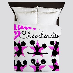 CHEERLEADER 4EVER Queen Duvet